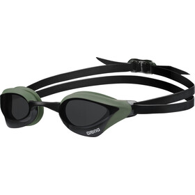 arena Cobra Core Okulary pływackie, smoke-army-black